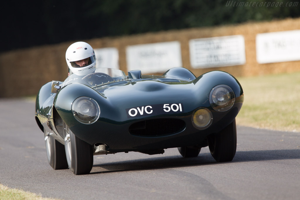 Jaguar D-Type - Chassis: XKC 401 - Entrant: Jaguar Daimler Heritage Trust  - 2013 Goodwood Festival of Speed