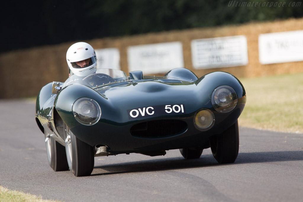Jaguar D-Type - Chassis: XKC 401 - Entrant: Jaguar Daimler Heritage Trust  - 2013 Goodwood Festival of Speed