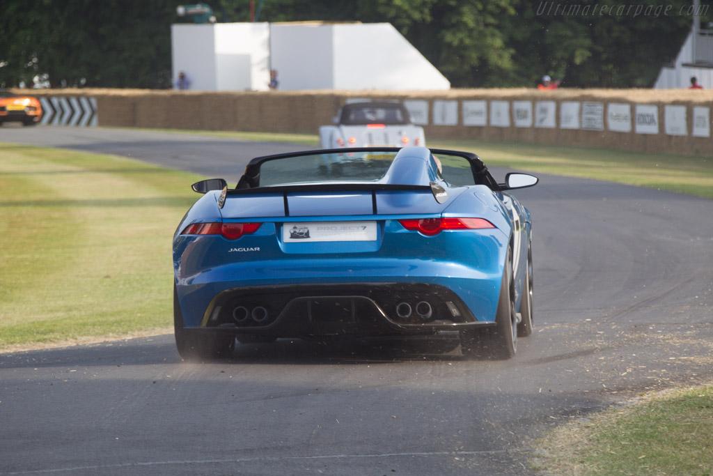 Jaguar Project 7    - 2013 Goodwood Festival of Speed