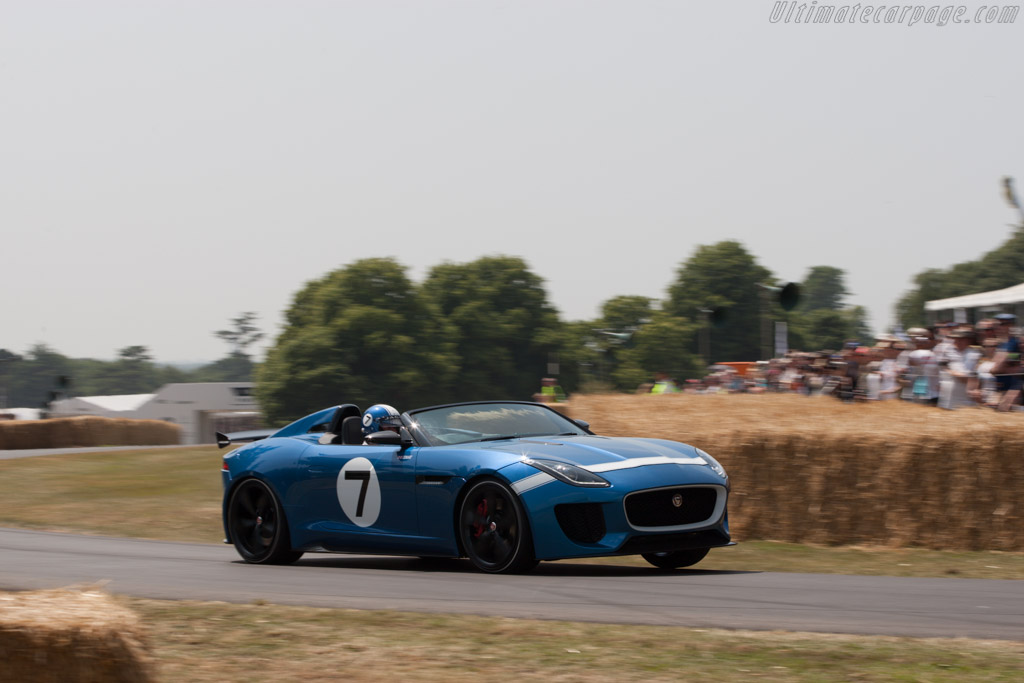 Jaguar Project 7    - 2013 Goodwood Festival of Speed