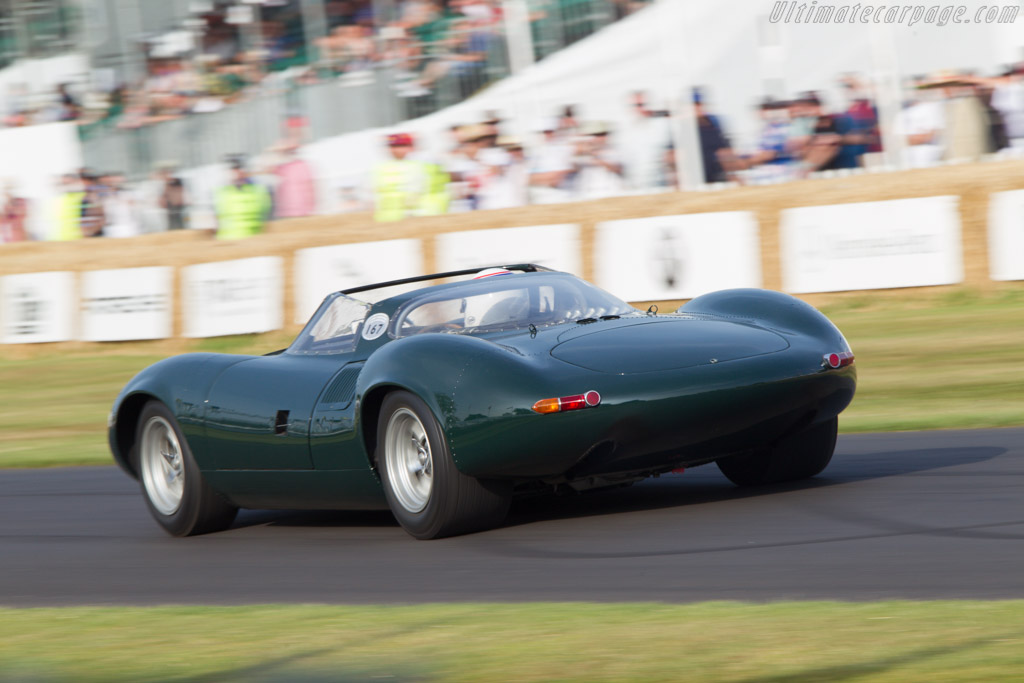 Jaguar XJ13 - Chassis: XJ13 - Entrant: Jaguar Daimler Heritage Trust - Driver: Andy Wallace  - 2013 Goodwood Festival of Speed