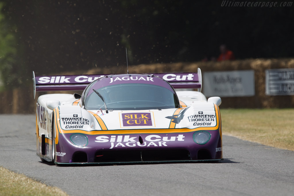 Jaguar XJR-8 - Chassis: J12-C-287 - Driver: Justin Law  - 2013 Goodwood Festival of Speed