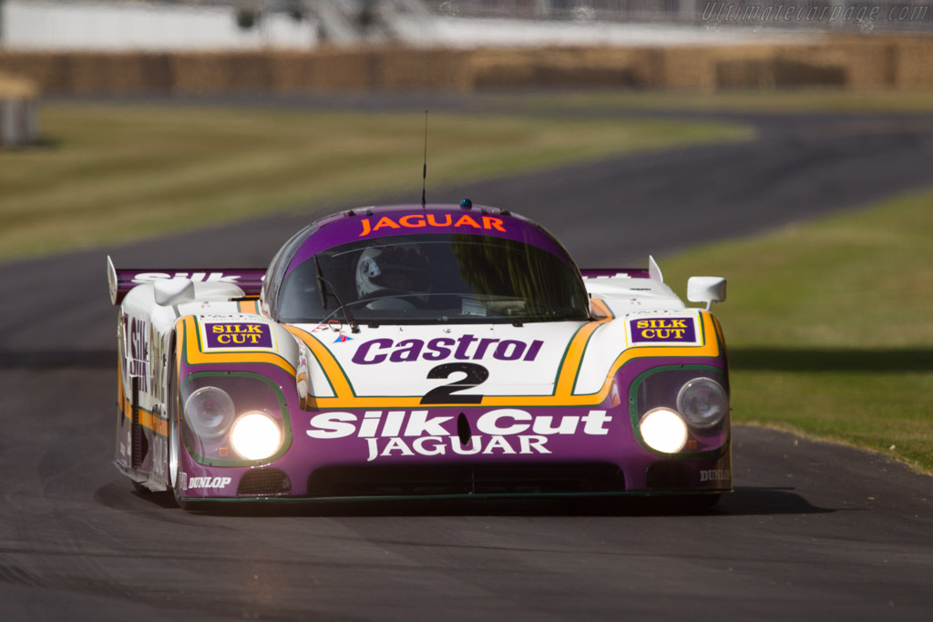 Jaguar XJR-9 - Chassis: J12-C-488 - Entrant: Jaguar Daimler Heritage Trust - Driver: Andy Wallace  - 2013 Goodwood Festival of Speed