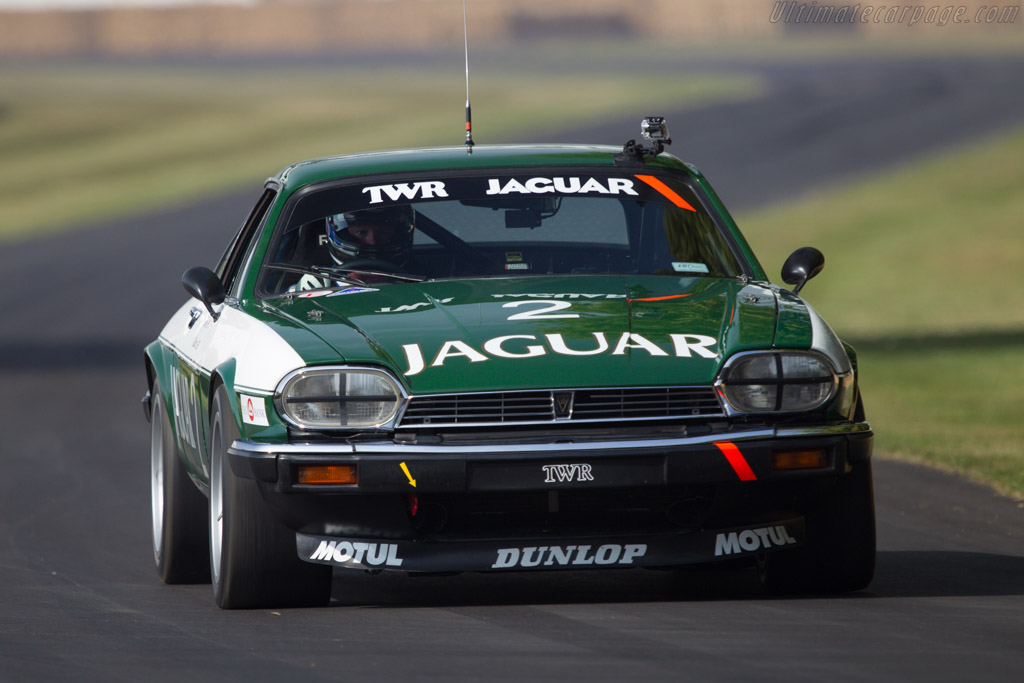 Jaguar XJS TWR - Chassis: TWR JC 84A005 - Entrant: JD Classics - Driver: Martin Brundle  - 2013 Goodwood Festival of Speed