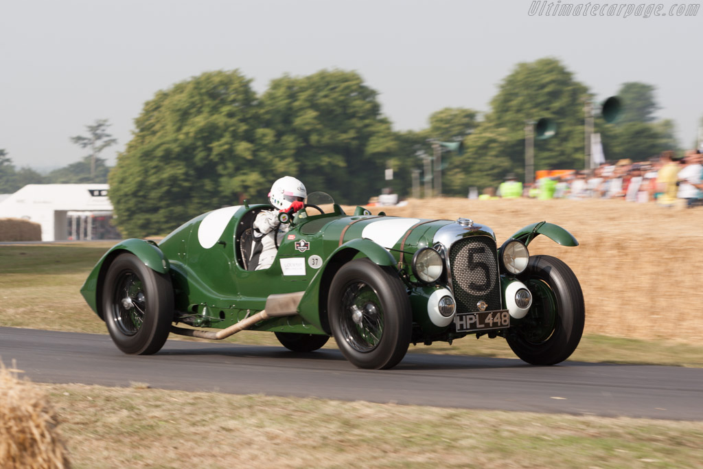 Lagonda V12 Le Mans - Chassis: 14089 - Entrant: The Louwman Museum - Driver: Quirina Louwman  - 2013 Goodwood Festival of Speed