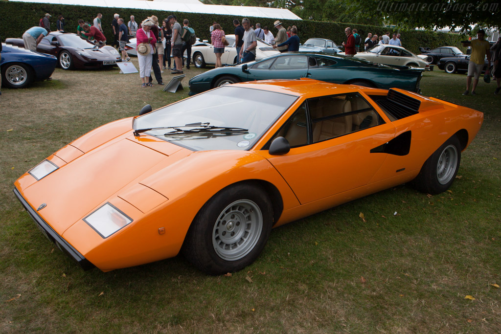 Lamborghini Countach  - Entrant: Michael Pullen  - 2013 Goodwood Festival of Speed