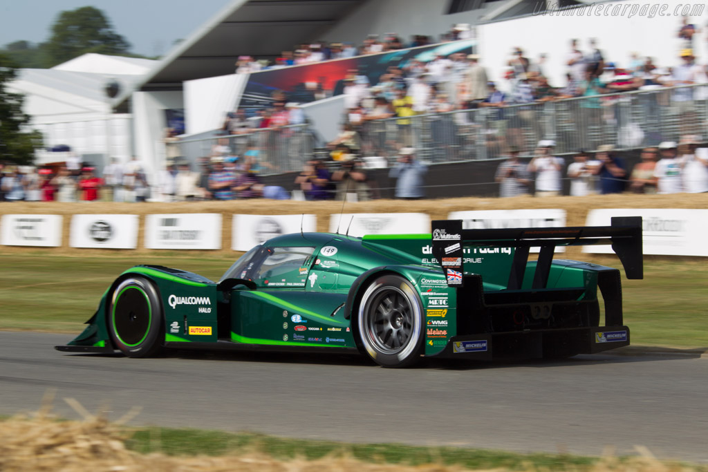 Lola-Drayson B12/69EV - Chassis: HU03 - Entrant: Drayson Racing - Driver: Jonny Cocker  - 2013 Goodwood Festival of Speed