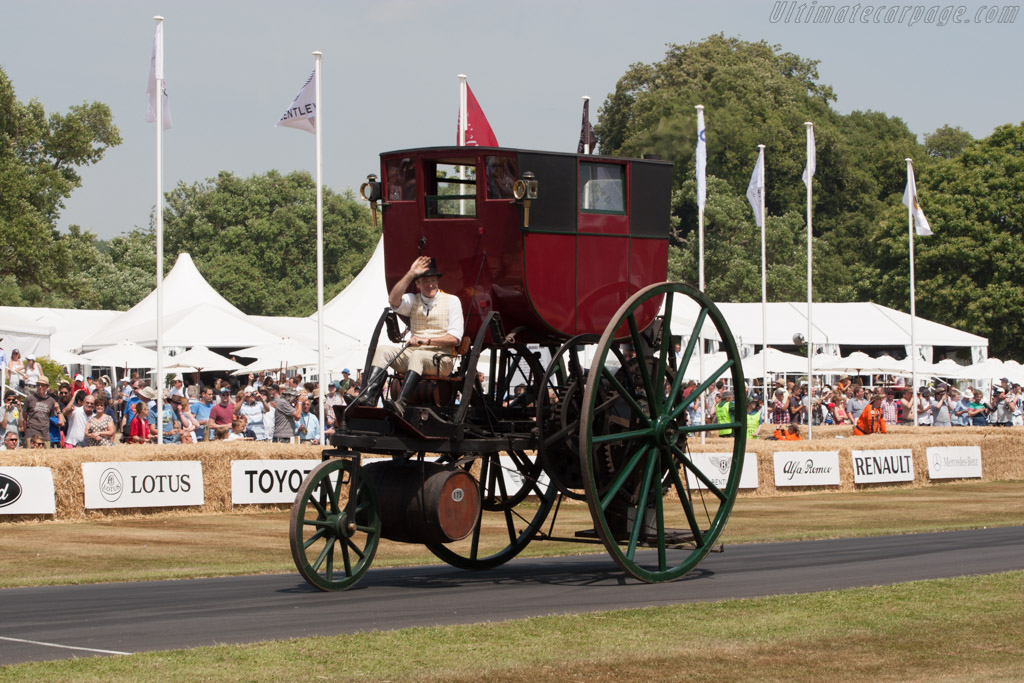 London Steam Carriage  - Driver: Tom Brogden  - 2013 Goodwood Festival of Speed