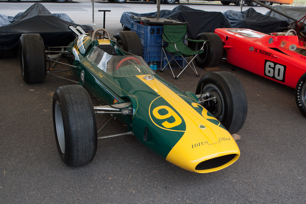 Lotus 29 Ford - Chassis: 29/1 - Entrant: The Louwman Museum  - 2013 Goodwood Festival of Speed