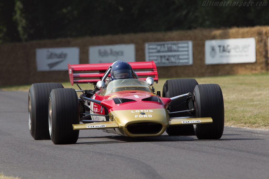 Lotus 49B Cosworth - Chassis: R10 - Entrant: Classic Team Lotus - Driver: Nick Fennell  - 2013 Goodwood Festival of Speed