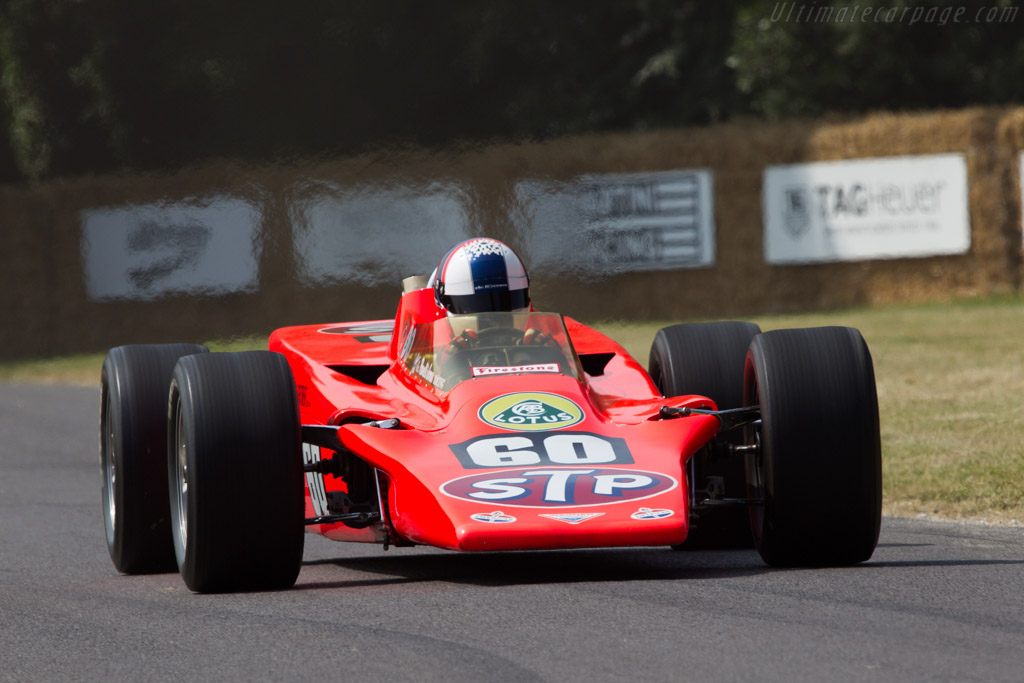 Lotus 56 - Chassis: 56/1 - Entrant: Indianapolis Motor Speedway Hall of Fame - Driver: Gil de Ferran  - 2013 Goodwood Festival of Speed