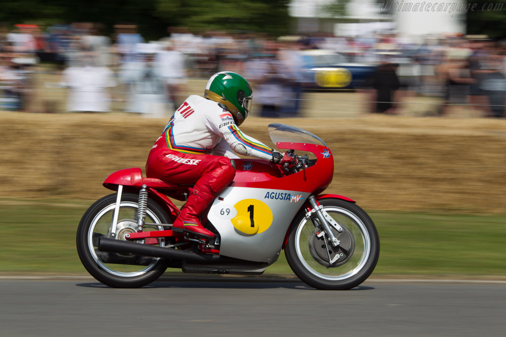 MV Agusta MV500  - Driver: Giacomo Agostini  - 2013 Goodwood Festival of Speed