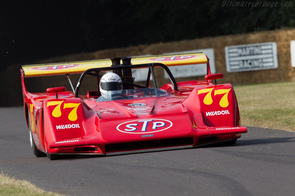 March 707 Chevrolet - Chassis: 707/2 - Driver: Matteo Mario Tullio  - 2013 Goodwood Festival of Speed