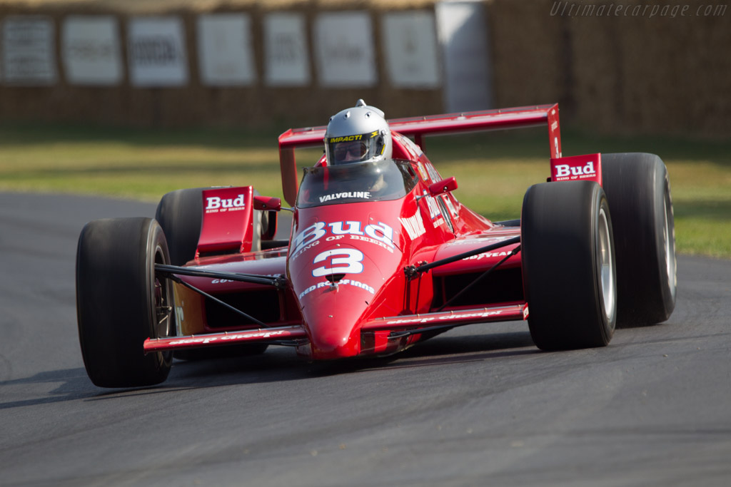 March 86C Cosworth - Chassis: 86C-13 - Driver: Patrick Ryan  - 2013 Goodwood Festival of Speed