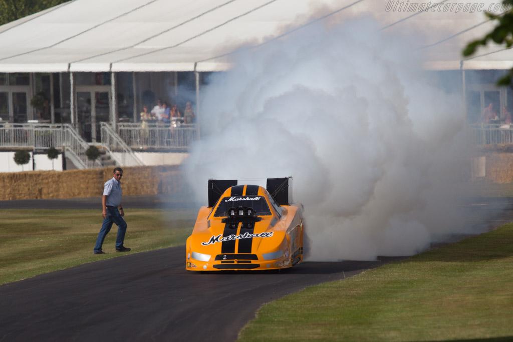 Marshall Funny Car  - Driver: Jason Phelps  - 2013 Goodwood Festival of Speed