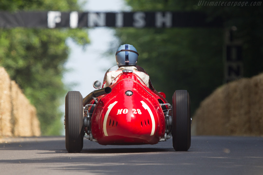 Maserati 250F Lightweight - Chassis: 2529 - Driver: Lukas Huni  - 2013 Goodwood Festival of Speed