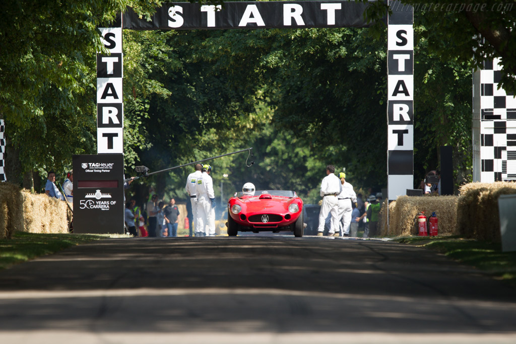 Maserati 450S - Chassis: 3501 - Driver: Franco Lombardi  - 2013 Goodwood Festival of Speed