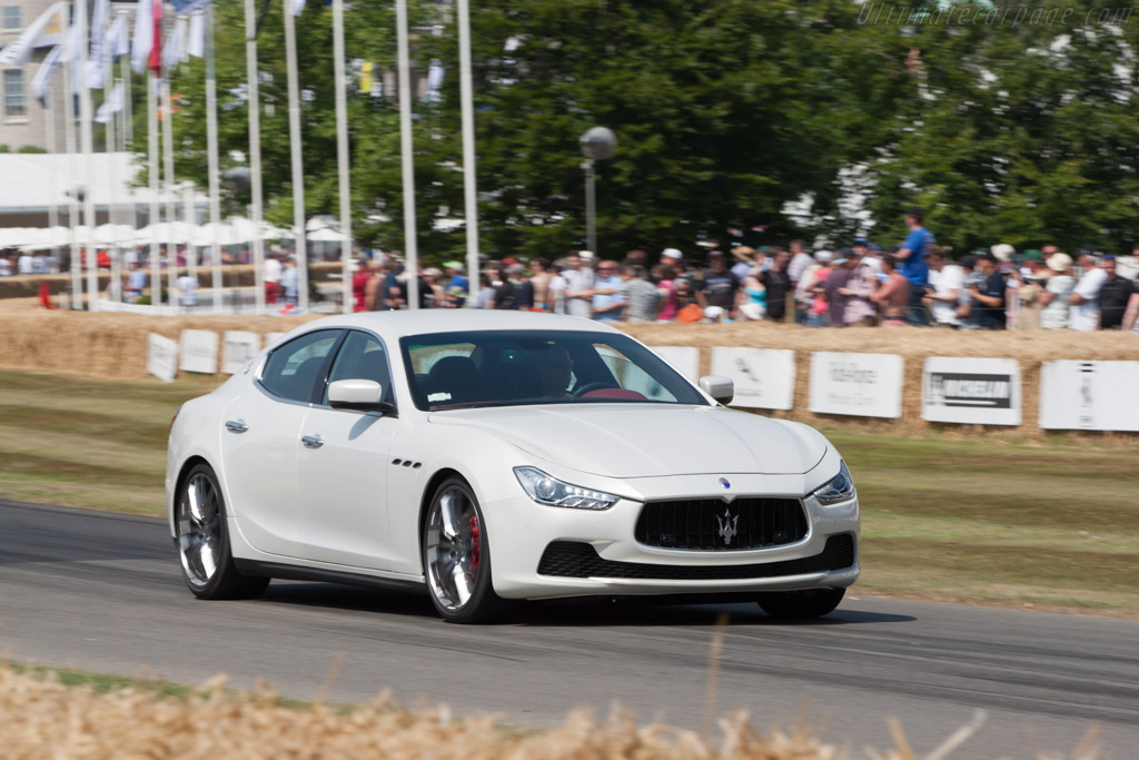 Maserati Ghibli    - 2013 Goodwood Festival of Speed