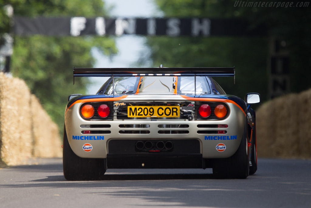 McLaren F1 GTR - Chassis: 02R - Entrant: Aaron Hsu - Driver: Ray Bellm  - 2013 Goodwood Festival of Speed