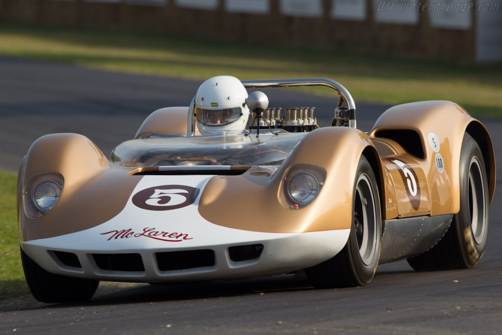 McLaren M1A Oldsmobile - Chassis: 20-01 - Driver: Egon Zweimuller  - 2013 Goodwood Festival of Speed