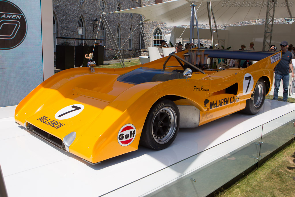 McLaren M8F Chevrolet - Chassis: M8F/1 - Entrant: The Louwman Museum  - 2013 Goodwood Festival of Speed