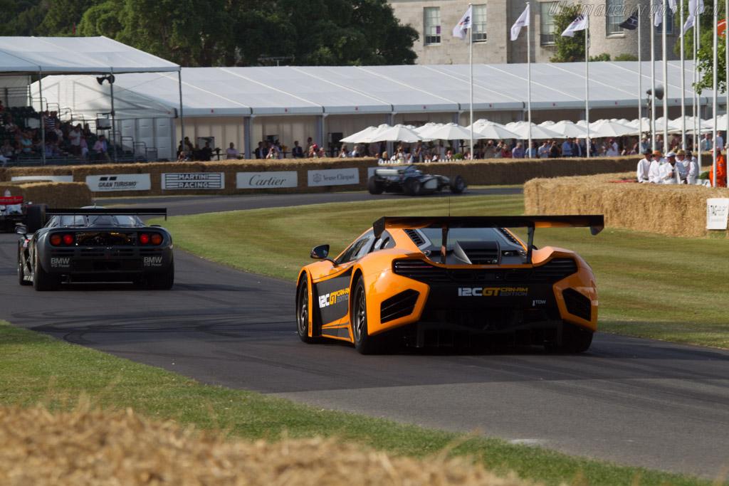 McLaren MP4-12C Can-Am Edition  - Entrant: McLaren International - Driver: Rob Bell  - 2013 Goodwood Festival of Speed