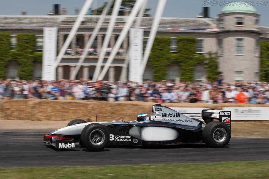 McLaren MP4-13 Mercedes - Chassis: MP4-13-04 - Entrant: McLaren International - Driver: Nick Heidfeld  - 2013 Goodwood Festival of Speed