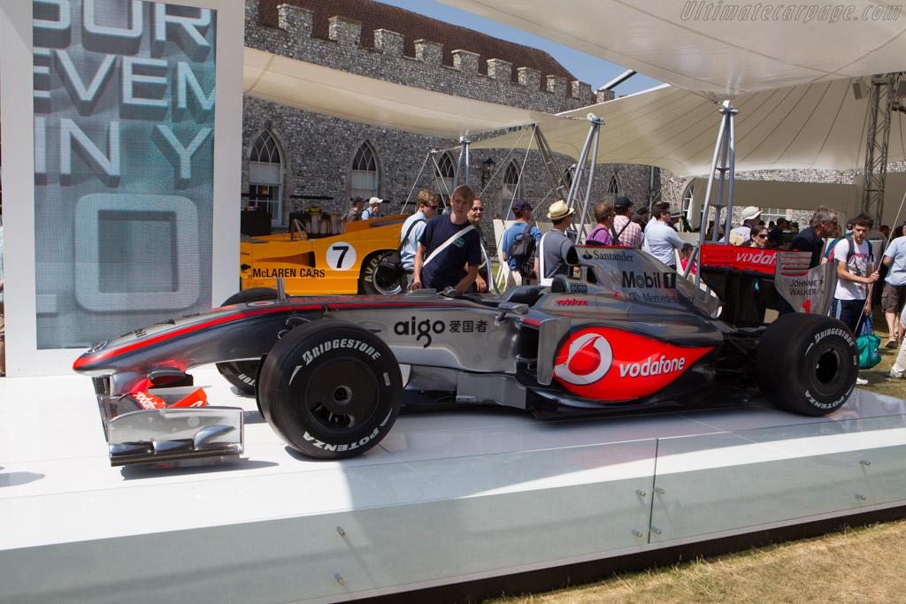 McLaren MP4-24 Mercedes - Chassis: MP4-24A - 4 - Entrant: McLaren International  - 2013 Goodwood Festival of Speed