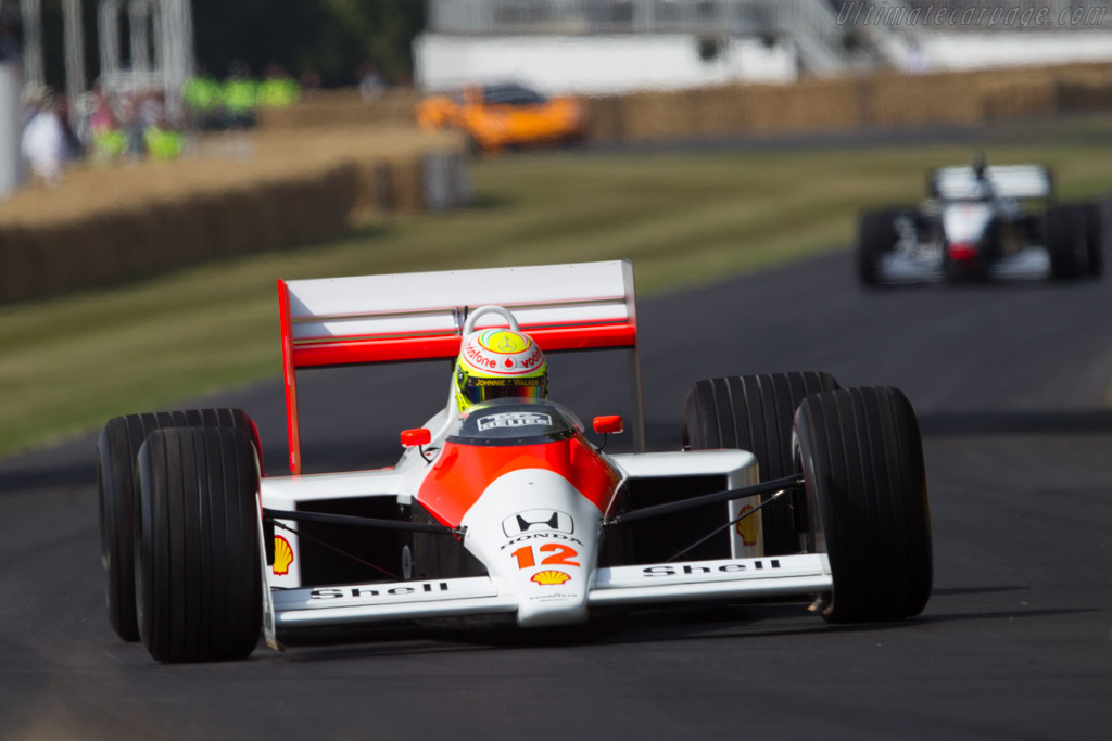 McLaren MP4/4 Honda - Chassis: MP4/4-1 - Entrant: McLaren International - Driver: Sergio Perez  - 2013 Goodwood Festival of Speed