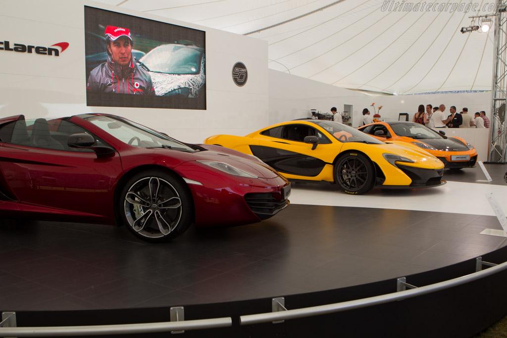 McLaren P1  - Entrant: McLaren International  - 2013 Goodwood Festival of Speed