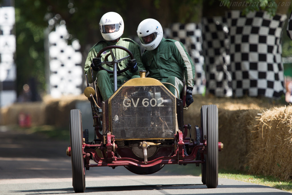 Mercedes 60hp  - Driver: Ben Collings  - 2013 Goodwood Festival of Speed
