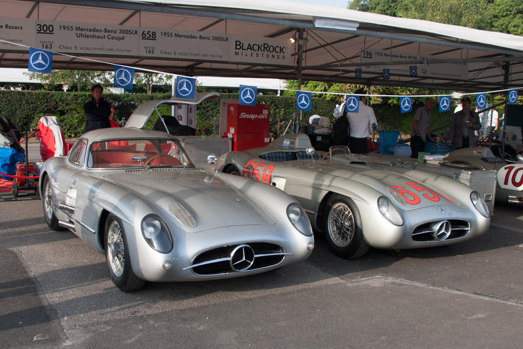 Mercedes-Benz 300 SLR Coupe - Chassis: 00008/55 - Entrant: Mercedes-Benz Classic  - 2013 Goodwood Festival of Speed