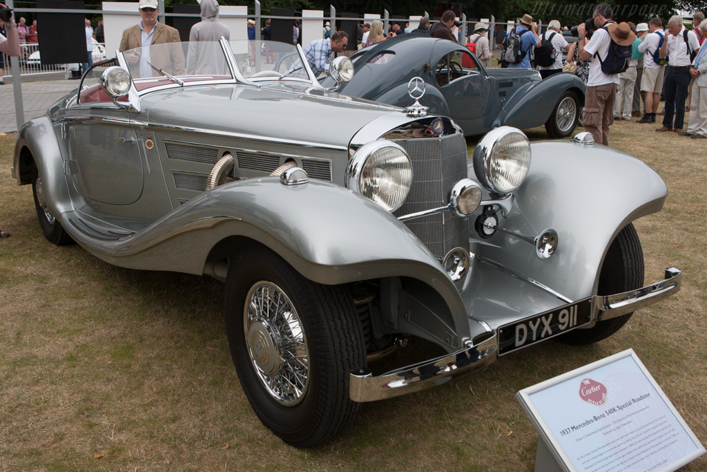 Mercedes-Benz 540K Spezial Roadster - Chassis: 154086 - Entrant: O.L. Collection  - 2013 Goodwood Festival of Speed