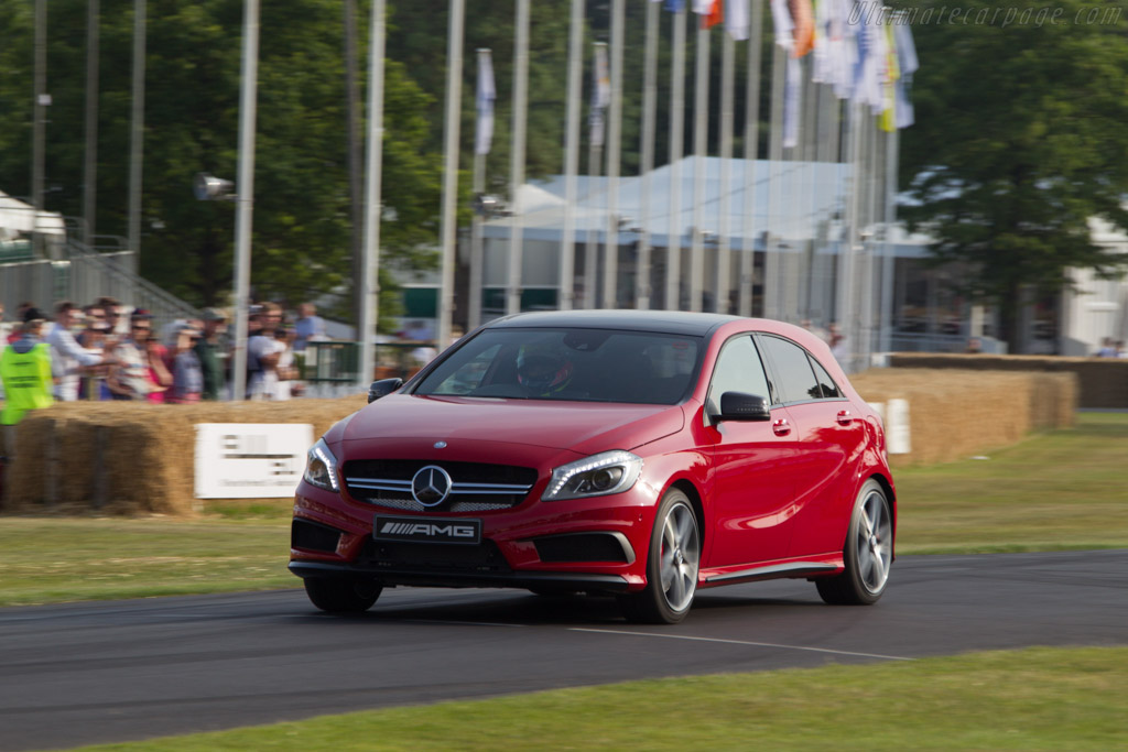 Mercedes-Benz A 45 AMG    - 2013 Goodwood Festival of Speed