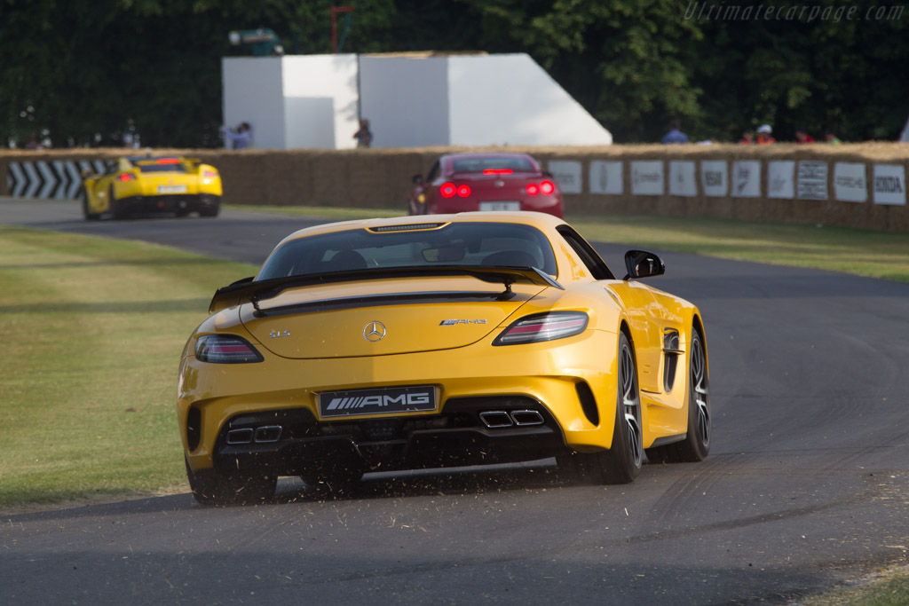 Mercedes-Benz SLS AMG Black Series    - 2013 Goodwood Festival of Speed