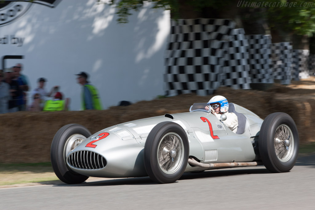 Mercedes-Benz W154 - Chassis: 189441/11 - Entrant: Mercedes-Benz Classic - Driver: Jochen Mass  - 2013 Goodwood Festival of Speed