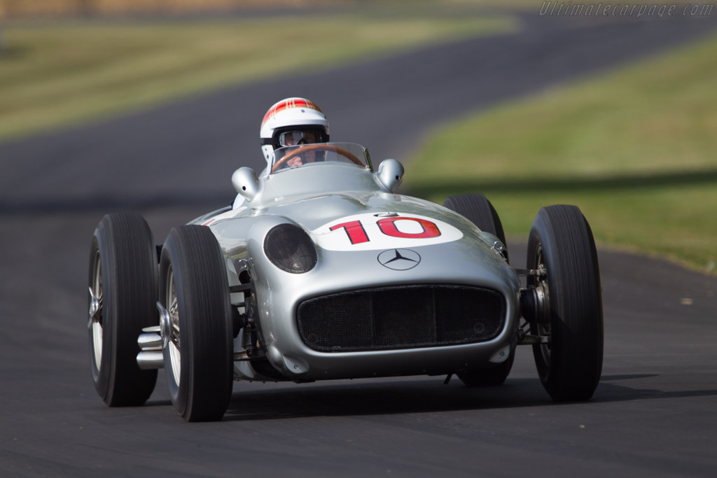 Mercedes-Benz W196 - Chassis: 000 08/54 - Entrant: Mercedes-Benz Classic - Driver: Jackie Stewart  - 2013 Goodwood Festival of Speed