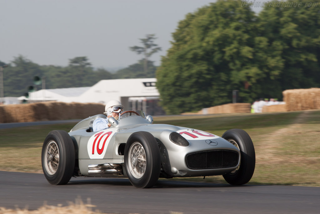 Mercedes-Benz W196 - Chassis: 000 08/54 - Entrant: Mercedes-Benz Classic - Driver: Stirling Moss  - 2013 Goodwood Festival of Speed