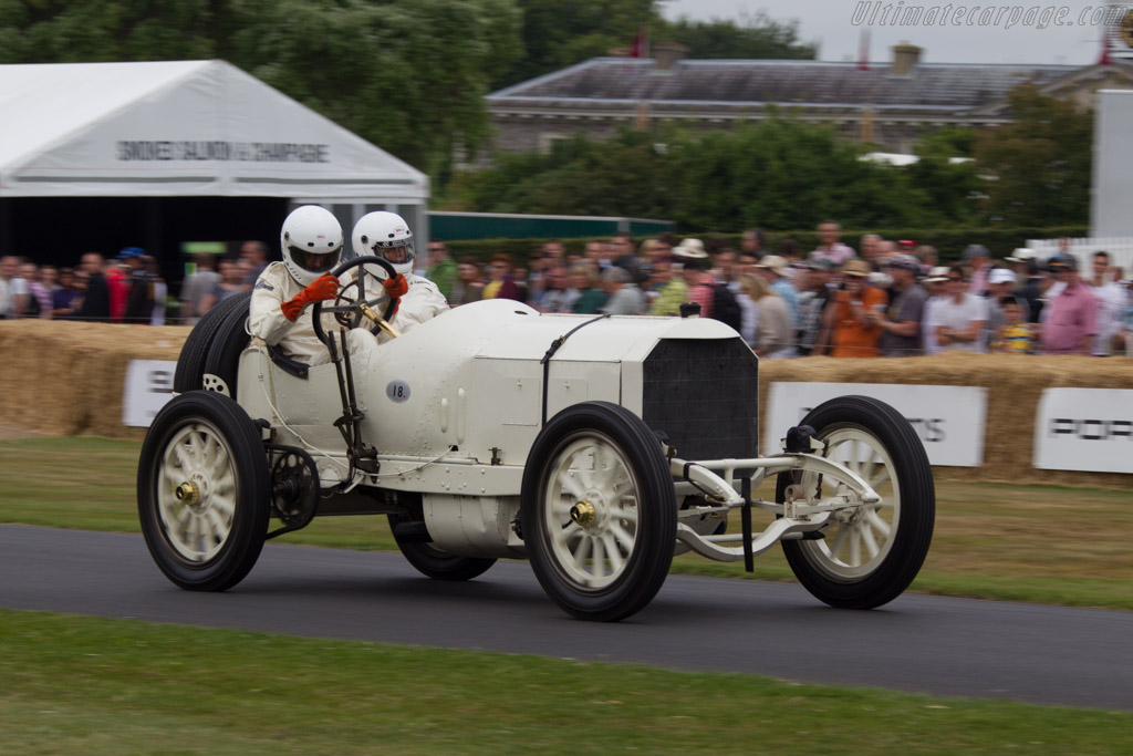 Mercedes Grand Prix  - Driver: George F. Wingard  - 2013 Goodwood Festival of Speed