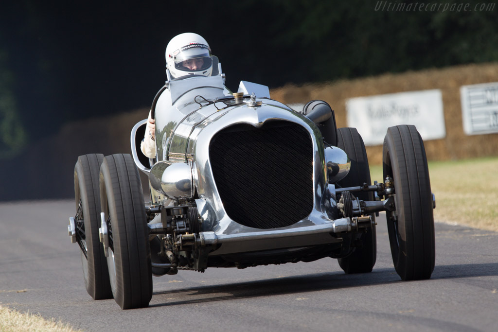 Napier Railton  - Entrant: Brooklands Museum Trust - Driver: Allan Winn  - 2013 Goodwood Festival of Speed