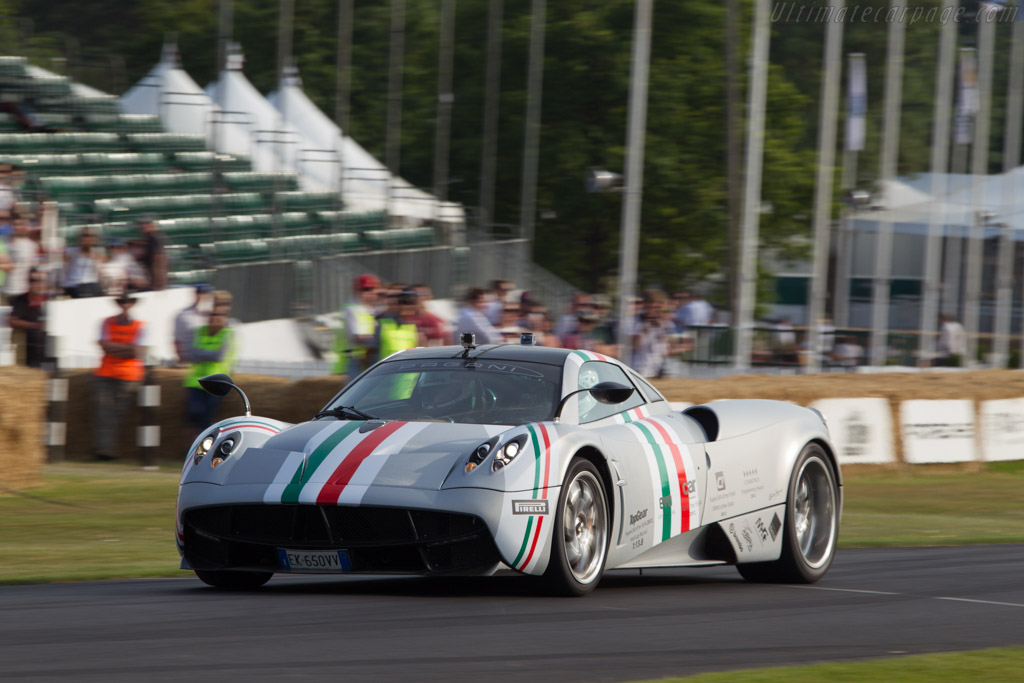 Pagani Huayra    - 2013 Goodwood Festival of Speed