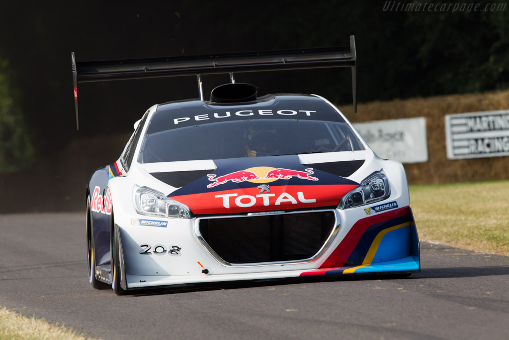 Peugeot 208 T16 Pikes Peak  - Entrant: Peugeot Sport - Driver: Gregory Guilvert  - 2013 Goodwood Festival of Speed
