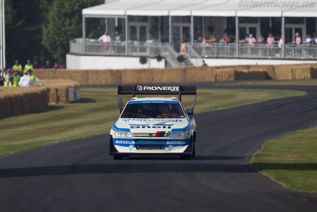 Peugeot 405 T16 GR Pikes Peak  - Driver: Enda Garvey  - 2013 Goodwood Festival of Speed