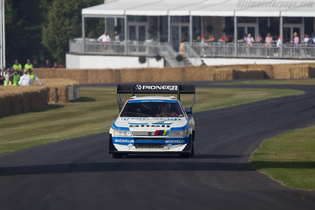 Peugeot 405 T16 GR Pikes Peak - Chassis: 405003 - Driver: Enda Garvey  - 2013 Goodwood Festival of Speed