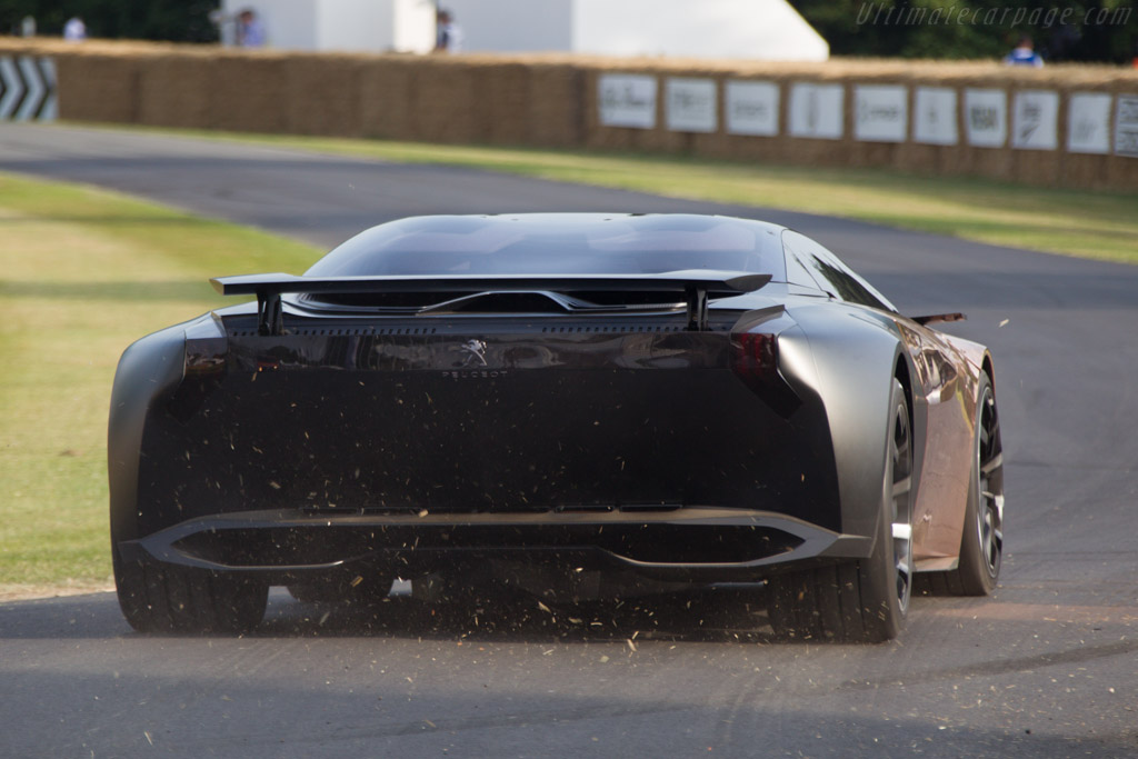 Peugeot Onyx    - 2013 Goodwood Festival of Speed