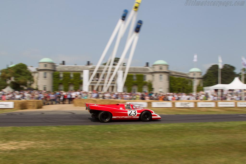 Porsche 917K - Chassis: 917-001 - Entrant: Porsche Museum - Driver: Hans Herrmann  - 2013 Goodwood Festival of Speed