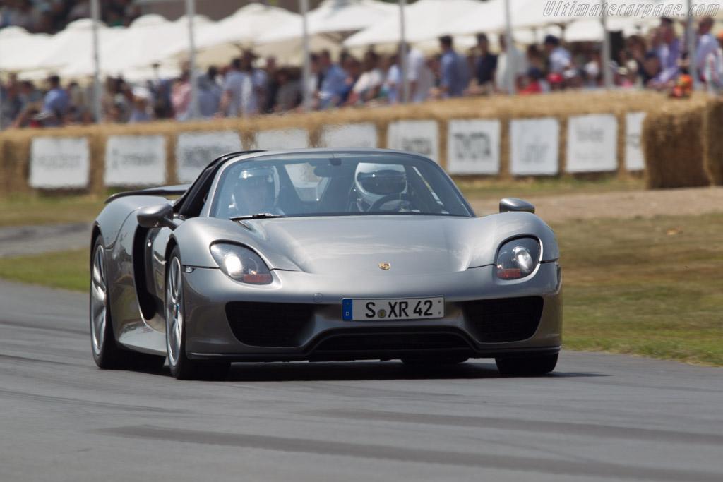 Porsche 918 Spyder 2013 Goodwood Festival Of Speed