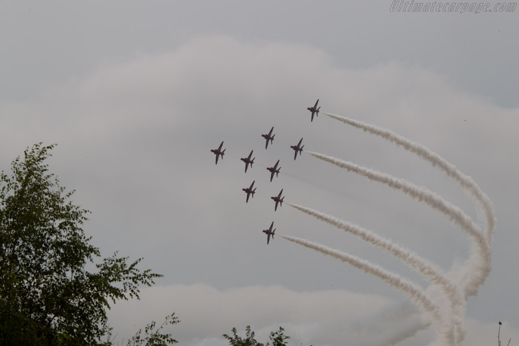 Red Arrows    - 2013 Goodwood Festival of Speed
