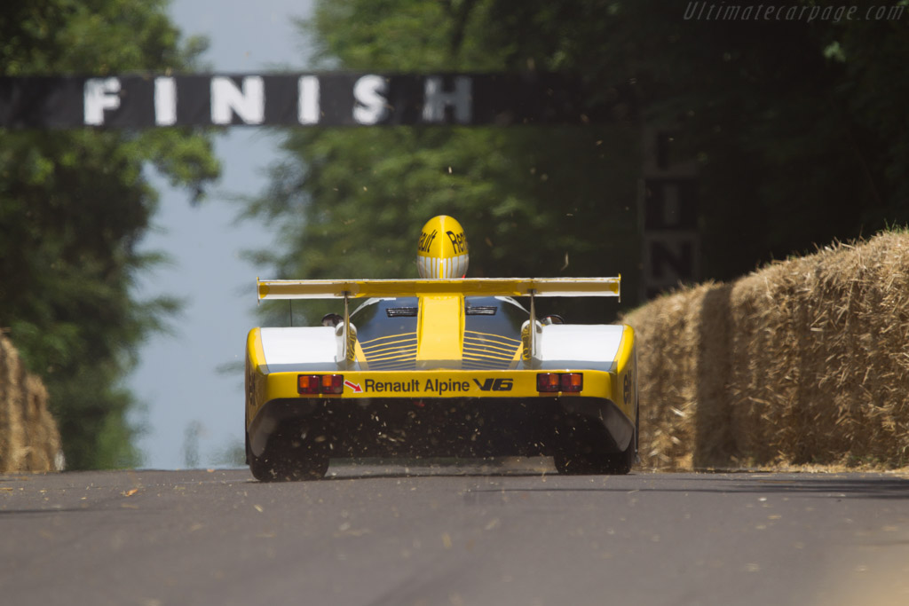 Renault-Alpine A442B - Chassis: 442/3 - Entrant: Collection Renault - Driver: Michel Leclere  - 2013 Goodwood Festival of Speed