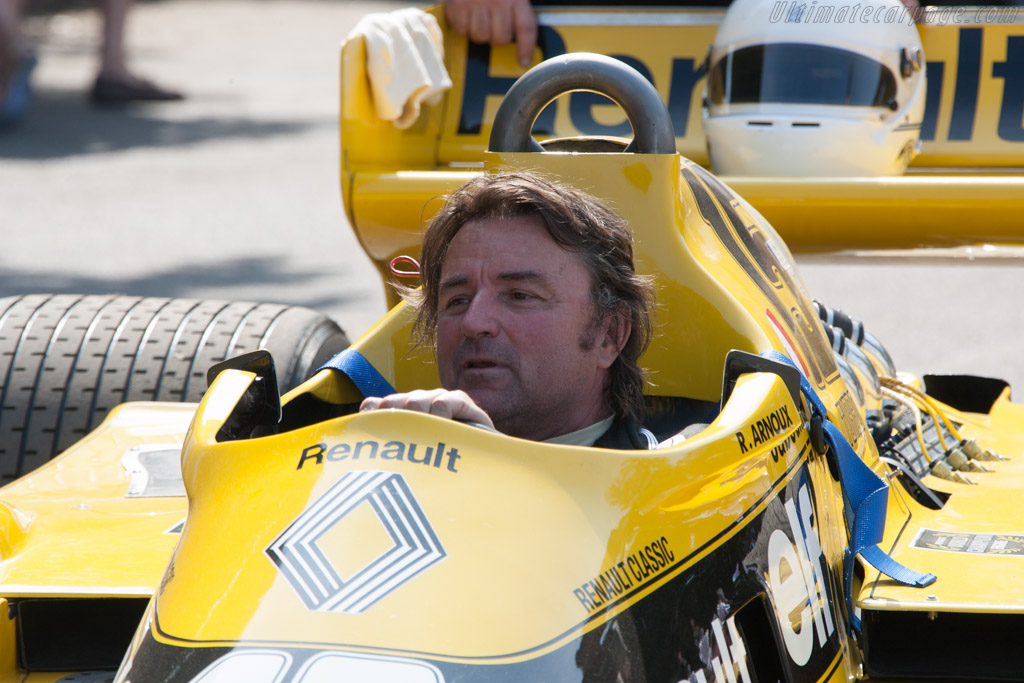 Renault RS01 - Chassis: RS 01/04 - Entrant: Collection Renault - Driver: Rene Arnoux  - 2013 Goodwood Festival of Speed